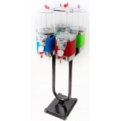 Zestaw 4 automatów na stojaku