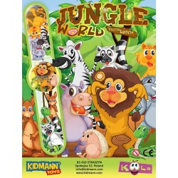 JUNGLE WORLD - ZEGAREK 55mm...
