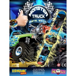 MONSTER TRUCK- ZEGAREK 55mm...