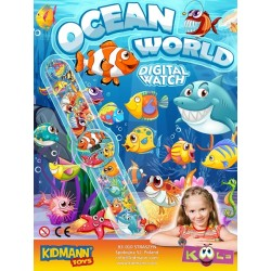 OCEAN WORLD - ZEGAREK 55mm...