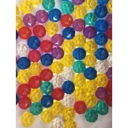 100 x BAUNCING BALL - DIAMOND  - diamond cut  32 mm 0.55zł