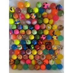 100 x BOUNCING BALL -  LUX...