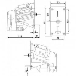 INNOX Wrzutnik Monet Mechaniczny 5 zł. WJ-A13